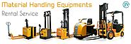 Material Handling Equipments Rental Service in India