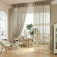 Choose lace curtains
