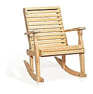 Amish Glider Rocker For Outdoor
