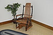 Amish Glider Rocker For Sale