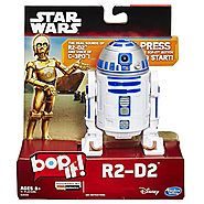 Star Wars R2-D2 Bop It! Game with Authentic Droid SFX and Real Voice of C-3PO Actor (AU Import)