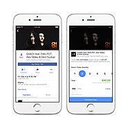 Facebook begins selling concert tickets directly on events pages