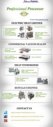 Choose Professional Processor For The Best Quality Meat Mixers For Your Kitchen