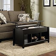 Premium Quality Low Coffee Table With Hidden Lift Top and Lower Storage Compartment For Contemporary Home And Living ...