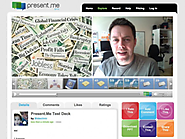 Present.me | Free online video presentation software | Make a slideshow with your powerpoint & web cam