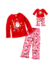 Jolly Dollie Christmas Santa Sleepwear | Matching Fashions