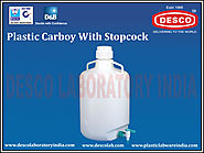 Carboy with Stop Cock Manufacturers India | DESCO India