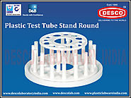 Test Tube Stands with 12 Holes Manufacturers | DESCO India
