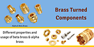 Benefits Of Brass Turned Components India