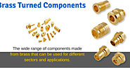 Reliable Brass Turned Components Manufacturers India