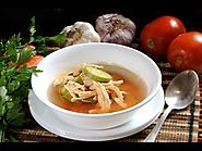Chicken Soup with Zucchini