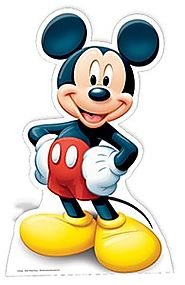 Mickey Mouse Star Mini Cut Out