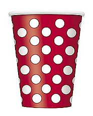Red Dots Cups