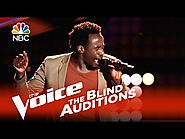 "The Voice 2015 Blind Audition - Anthony Riley: ""I Got You (I Feel Good)"""