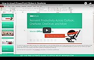 How to Insert PowerPoint Slides in OneNote | Office 365 Ninja