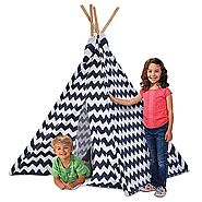 Discovery Kids™ Wood and Canvas Play Teepee
