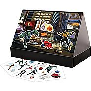 Colorforms Brand Spider Man Create a Story Restickable Set