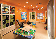 PLAY ROOM DESIGN FOR KIDS