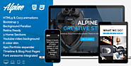 ThemeForest - Alpine - Responsive One Page Parallax Template - Cheap Wordpress Plugins. Online Cheap Wordpress Plugin...