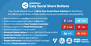 Easy Social Share Buttons - Wordpress Plugin - Cheap Wordpress Plugins. Online Cheap Wordpress Plugins & Themes