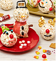 The Popcorn Factory Christmas Popcorn Ball Decorating Kit