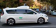Waymo orders thousands of Chrysler Pacificas for expansion of driverless-taxi service