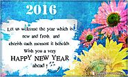Happy New Year Greetings 2016 | New Year 2016 Wishes