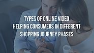 Types of online video to help in shopping journey - Goodvidio Blog