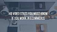 40 Video stats you must know for ecommerce