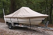 "VORTEX HEAVY DUTY TAN / BEIGE CENTER CONSOLE BOAT COVER FOR 19'7"" - 20'6"" BOAT (FAST SHIPPING - 1 TO 4 BUSINESS DAY D..."
