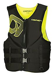 O'Brien Traditional Neo Life Men's Vest, Yellow, XX-Large