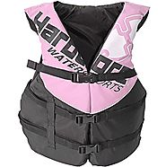 Adult Life Jacket Vest - US Coast Guard approved Type III (Pink Universal)
