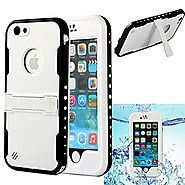 iPhone 6S Plus Waterproof Case,iPhone 6 Plus Waterproof Case, Caka Full-Body Underwater Waterproof Shockproof Dirtpro...
