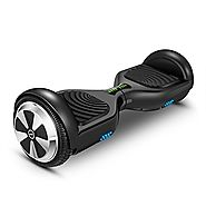 Hoverboard Two-wheel Self-balancing Scooter-VEEKO UL2272 Certificated 6.5'' All-terrian Aluminum Alloy Wheels,350W Du...