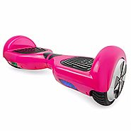 Self-Balancing Scooter 2 Wheels Electric Hoverboard UL Certified Various Colors (pink)