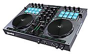 Gemini GV Series G2V Professional Audio 2-Channel MIDI Mappable Virtual DJ Controller with Touch Sensitive Jog Wheel ...