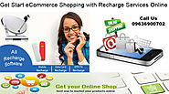 eCommerce Shopping with Recharge Solution Online