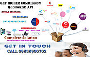 Get Single API for ALL Recharge Solution with Higher Commission Margin