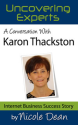 Online Success Cast #29: Karon Thackston
