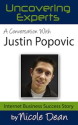 Online Success Cast #38: Justin Popovic