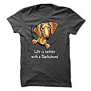 Best Funny Dachshund Shirts - Doxie T Shirts