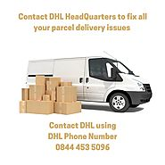 Call DHL Phone Number 0844 453 5096 - DHL Courier Help