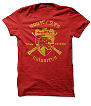 Gryffindor Crest Quidditch Team Captain Shirt