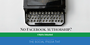 Why Haven't You Set Up Facebook Authorship?