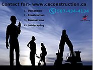 Get Best Demolition, Construction, Renovations and Landscaping services