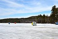 Ice Fishing In Meredith, NH