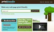 Print Friendly & PDF