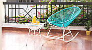 Ananse Patio Rocking Chair