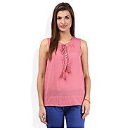 Buy American Swan Pink Top at Cheap Price Rs.360 Online