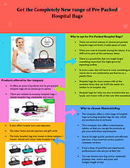 A Checklist of What to Pack in a Labour Bag